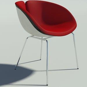 3d model fjord inox 3 color