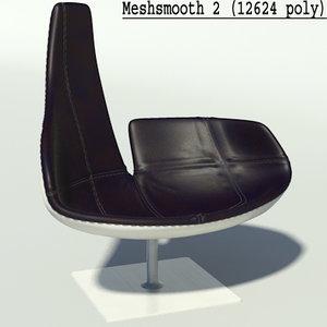 fjord black white resolution 3d model