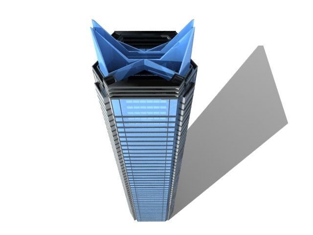 skyscraper sky 3d model