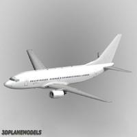 Boeing 737-300 Generic white