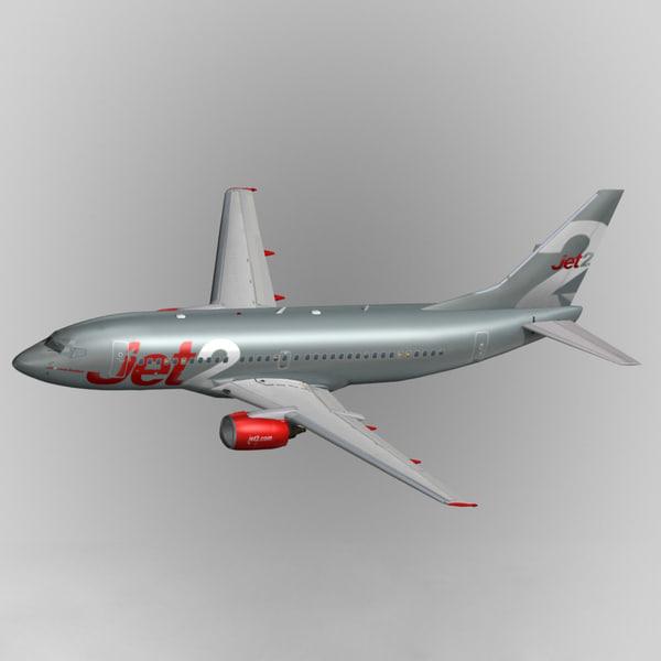 b737-300 jet2 3d model