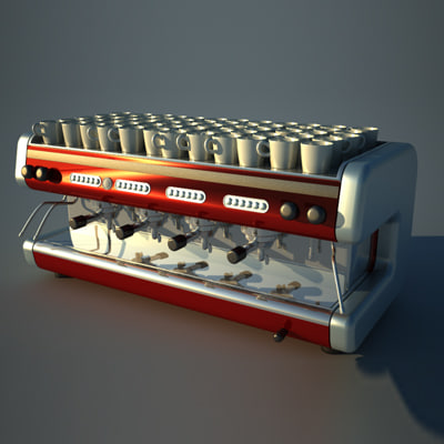 coffe 3d model