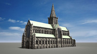 3d c4d glasgow cathedral
