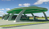 gas station v5 3d lwo