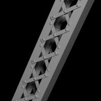 girder construction 3d model