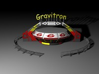 cinema4d amusement park gravitron