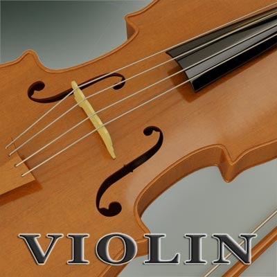 violin 3d 3ds