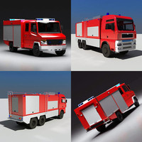 Firetrucks Set