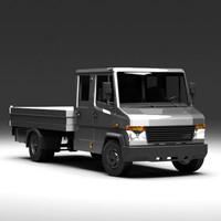 3d pickup truck model