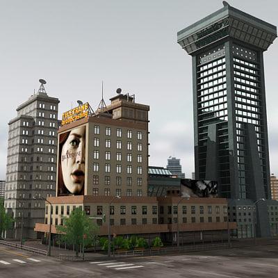 3ds city module