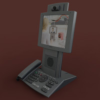 tandberg t150 videophone 3d model