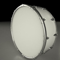 3d model drum