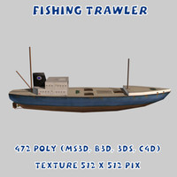 Ship Fishing Trawler