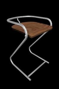 frog stool 3d model
