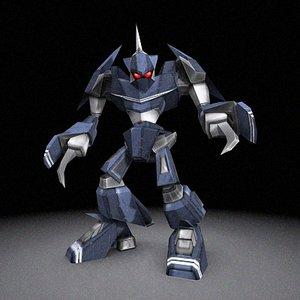 3d robot suit