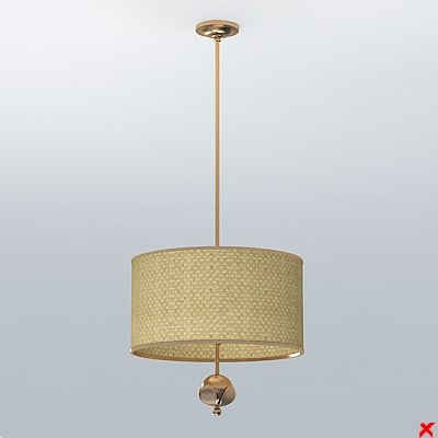 lamp hanging 3ds