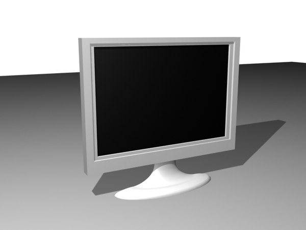 free monitor 3d model