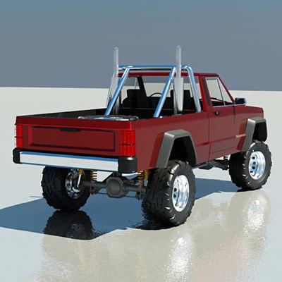 offroad 3d model