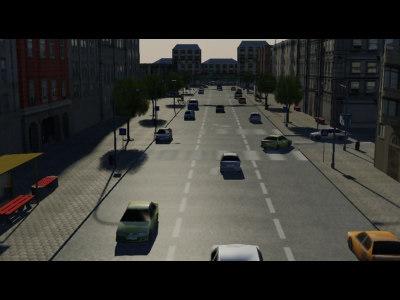 town buildings city 3d ma