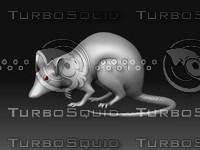3d lab rat