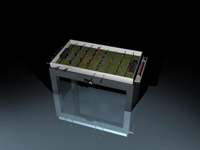 3d table soccer fusball ball
