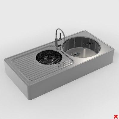 kitchen sink dxf