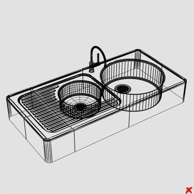 Sink kitchen004 ZIP