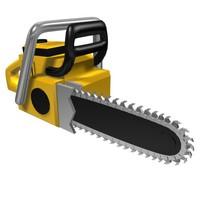 chainsaw chain 3d max