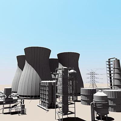 industrial iii 3d model