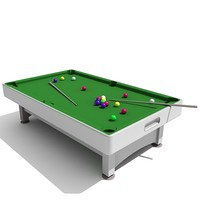 snooker table max