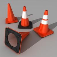traffic cones.c4d