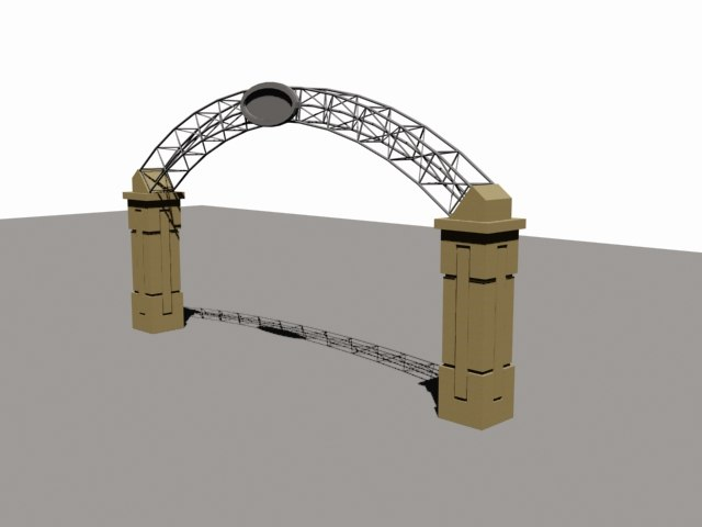 3d arch entry