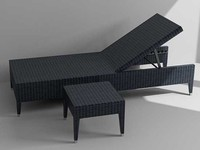 3d model outdoor lounge table