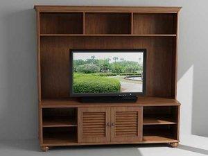 3d model entertainment tv