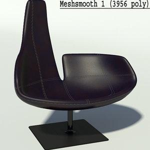 3d model fjord black resolution