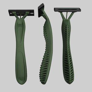 shaver shave obj