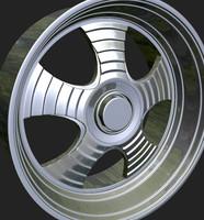 wheels rim 3d model