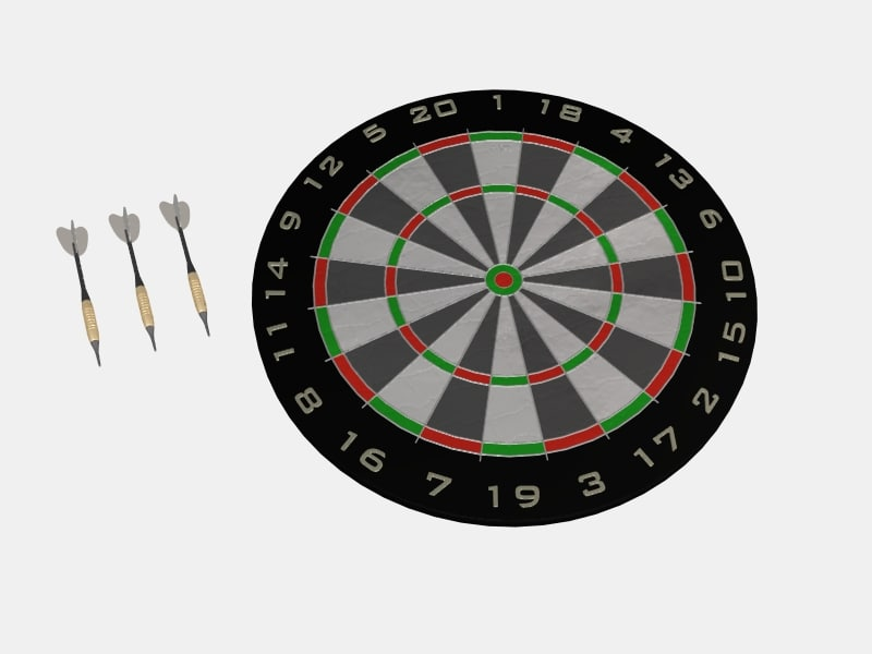 free obj model dart