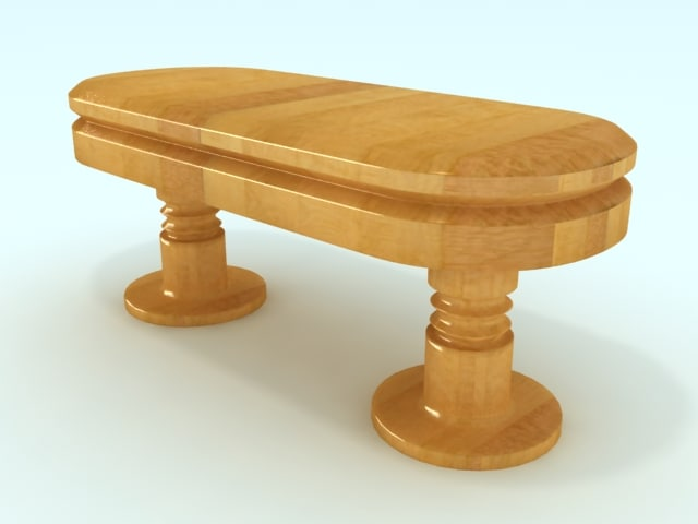 free max mode wood table