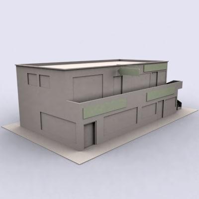 shop complex 3d 3ds