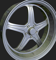 wheels rim 3d obj