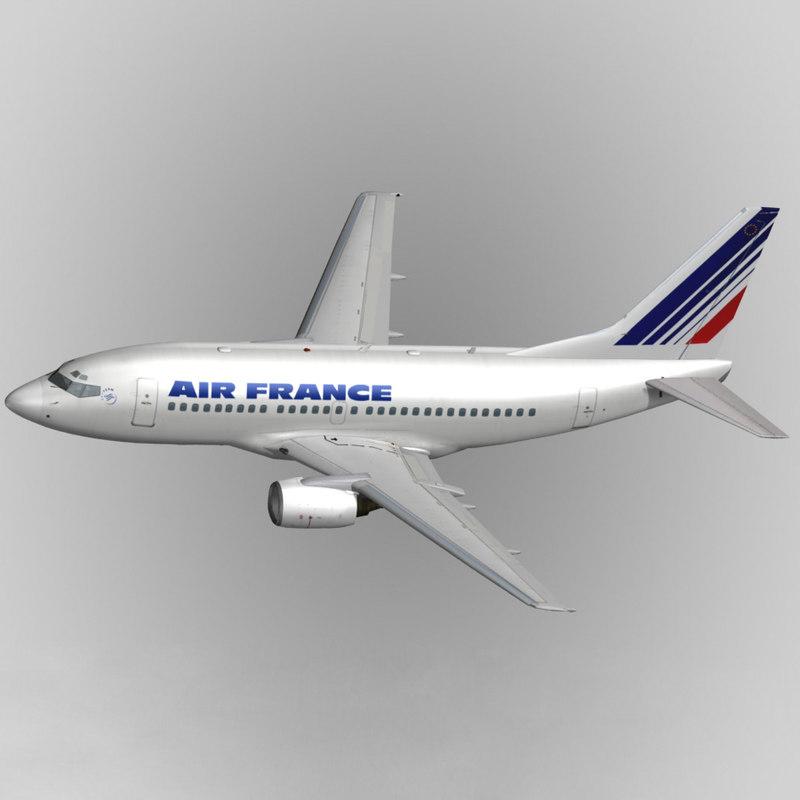 3d b737-500 air france