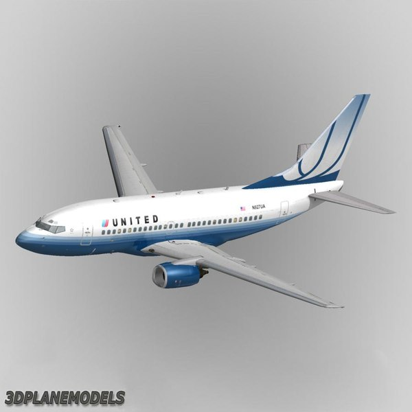 lwo b737-500 united airlines