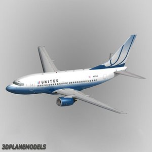 lwo b737-500 united airlines