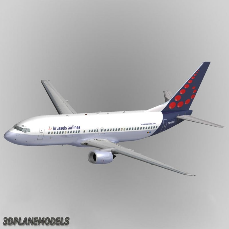 b737-400 brussels airlines max