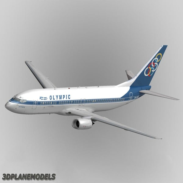 b737-400 olympic 3ds