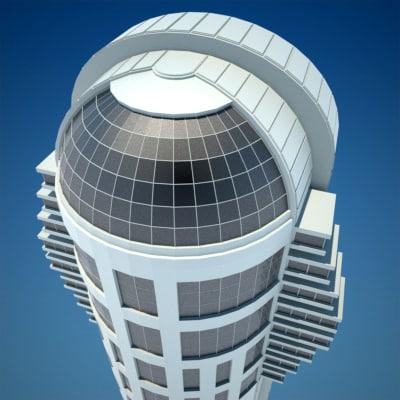 3d model skyscraper 8 vol 2