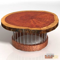 Log Slice Coffee Table