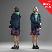 3d axyz 2 human model