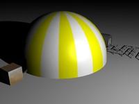 dome 3d model